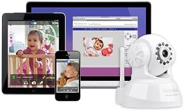 Medisana 52345 - Monitor inteligente para bebé, color blanco