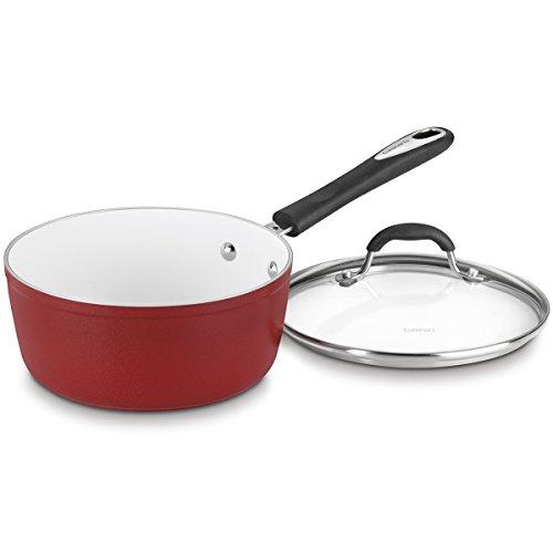 Cuisinart 5919-18R Elements Saucepan, 2-Quart, Red (2 Quart Cuisinart Saucepan compare prices)