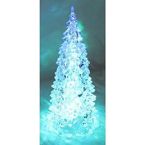 weihnachtsbaum aus acryl beleuchtet mit farbwechsel 23 5. Black Bedroom Furniture Sets. Home Design Ideas