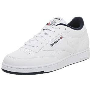 Reebok Men's Club C Sneaker,White/Navy,9.5 M