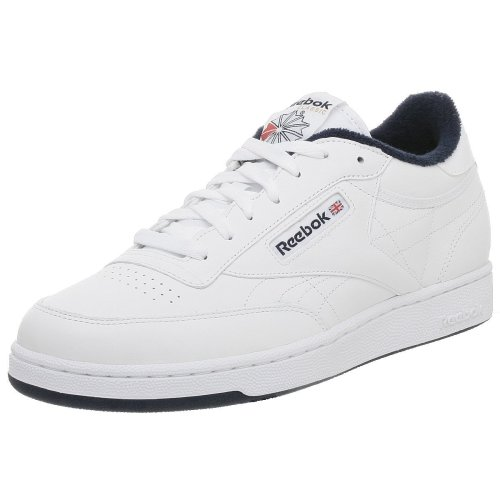 Reebok Men's Club C Tennis Shoe,White/Navy,12 M