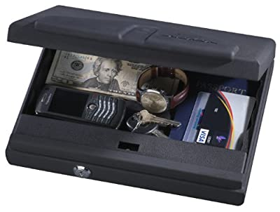 Stack-On PC-650-B Portable Locking Case with Biometric Lock