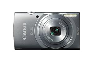 Canon IXUS 150 Point and Shoot Digital Camera - Grey (16MP, 8x Optical Zoom) 2.7 inch LCD