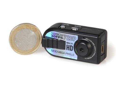 (51) HD mini digital camera metal, genuine 720 p resolution, 1280x720 pixe images