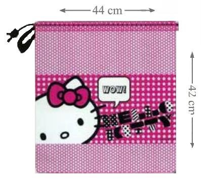 Hello Kitty Drawstring Tidy - Hello Kitty School Bag