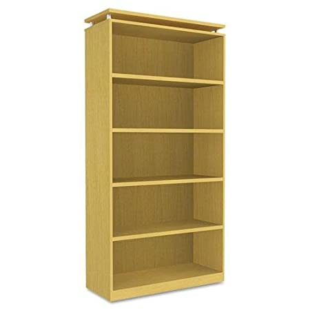 ALERA SE637236MP SedinaAG Series Bookcase, Five-Shelf, 36w x 15d x 72h, Maple