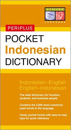 Pocket Indonesian Dictionary: Indonesian-English English-Indonesian (Periplus Pocket Dictionaries)