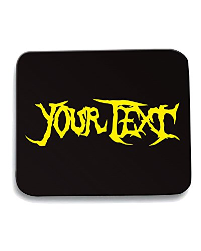Cotton Island - Tappetino Mouse Pad FUN1129 custom metal brutality t shirt, Taglia taglia unica