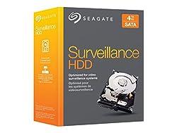 Seagate 4TB NAS HDD SATA 6Gb/s NCQ 64MB Cache 3.5 Internal Bare Drive Retail Kit (STBD4000100)