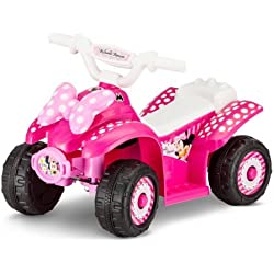 Disney Minnie 6V Battery Powered Ride-On Quad - Pink
