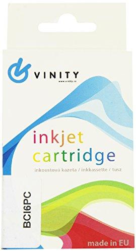 Vinity 5133008024 Kompatible Kartusche Vinitx für Canon S800, S820, S830, S900, S9000, i965, Pixma iP4000, iP5000 Entschädigung für BCl6PC, 13 ml, foto cyan