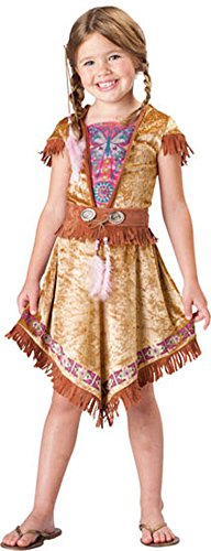 Kids Costumes - Indian Maiden Child Sz 4
