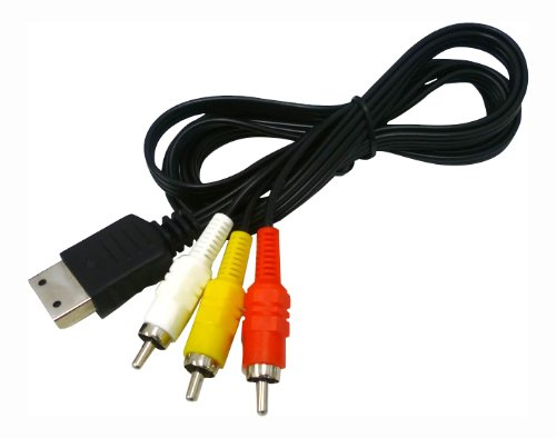 new-pal-sega-dreamcast-high-quality-av-composite-rca-display-cable-scart-uk-eur