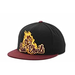Arizona State Sun Devils Snap Back Adjustable Hat One Size Fits Most Cap - OSFA by Top of the World