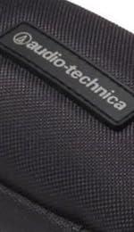 audio-technica ヘッドホンキャリングケース インナーイヤー用 黒 AT-HPP3M BK