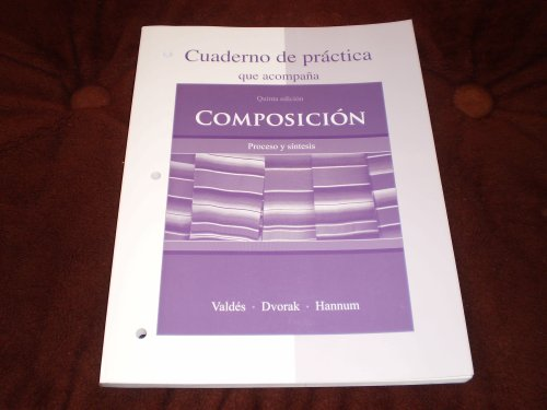 Cuaderno de Practica to Accompany Compos