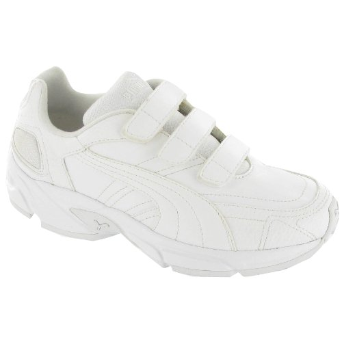 Puma Axis/Hahmer Junior Velcro Non-Marking Trainer / Boys Trainers / Unisex Sports