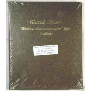 Dansco Modern Commemorative Type Dollars Album #7062 vol 1 (1983-2004)