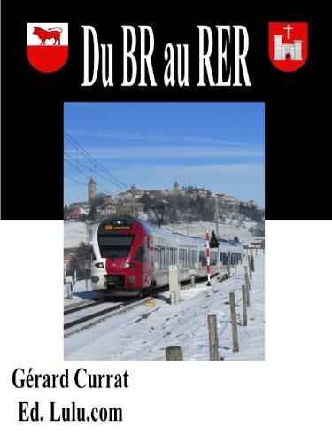 Couverture du livre du BR au RER (Ecrire le rail t. 2)