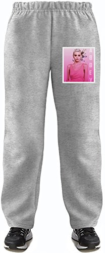 Girly Abbey Lee Super Soft Kids Lightweight Jog Pants by True Fans Apparel - 80% Organic, Hypoallergenic Cotton & 20% Polyester - Casual & Sports Wear - Perfect Present 5-6 years