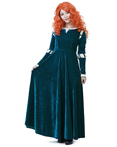 Halloween 2017 Disney Costumes Plus Size & Standard Women's Costume Characters - Women's Costume CharactersMiccostumes Womens Brave Merida Adult Cosplay Costume (Women S)