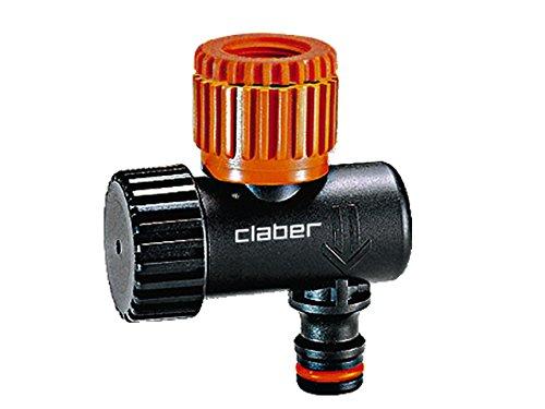 Claber 53923 8419 aquauno logica plus programmatore nero for Claber giardinaggio