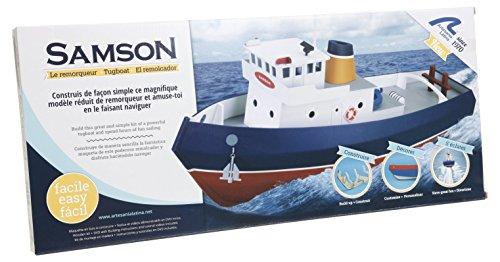 Artesania-Latina-30530-Schlepper-Samson-Build-und-Navi-Wasserfahrzeuge