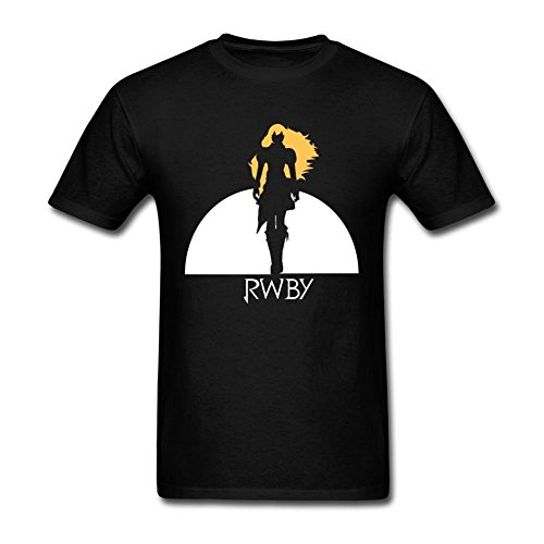 Yu Ye Men's RWBY Xiao Long T-shirt XX-Large