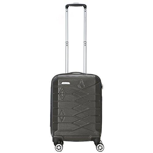 aerolite-premium-abs-hard-shell-8-wheel-spinner-luggage-suitcase-travel-trolley-cases-with-integrate