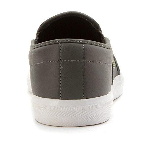 Lacoste Men's Gazon 316 1 Spm Fashion Sneaker, Dark Grey, 11 M US