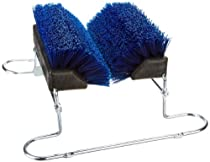 "Hot Sale Carlisle 4042414 Spectrum Boot 'N Shoe Brush with Chrome Plated Steel Frame, Polypropylene Bristles, 14-3/4"" Length x 7"" Height Block, 16-1/2"" Blade Width, Blue"
