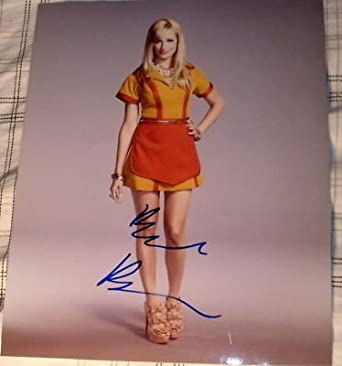 """Beth Behrs Signed Autograph Sexy Long Legs """"2 Broke Girls"""" Hot Promo 8x10 Photo - Signed Photographs"""
