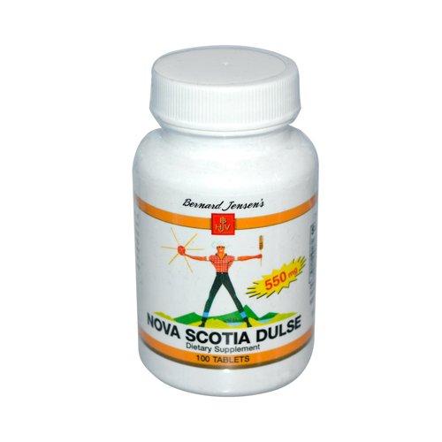 Bernard Jensen Dulse Nova Scotia 550 Mg 100 Tablets