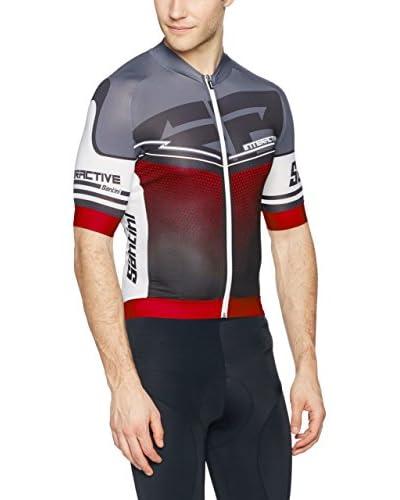 Santini Maillot Ciclismo Interactive 3