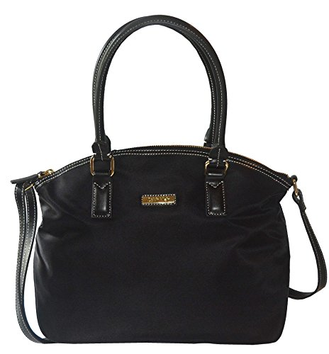 Calvin Klein Black Satchel Tote Bag Purse Handbag