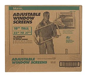 Marvin adjustable window screen for Marvin window screens
