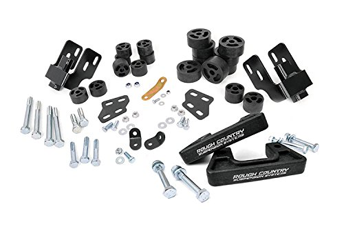 Rough Country 203 - 3.25-Inch Suspension & Body Lift Combo Kit (Steel Control Arms) For Chevrolet: Silverado 1500 4Wd/2Wd; Gmc: Sierra 1500 4Wd/2Wd