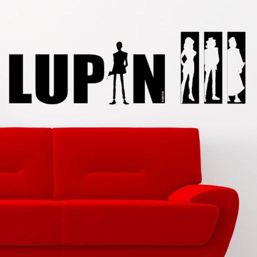 LA BANDA LUPIN - Adesivi Murali - Wall Stickers - per la decorazione della casa e della cameretta