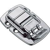 トラスコ中山:TRUSCO パッチン錠 横ズレ防止タイプ・スチール製 P-16 型式:P-16(1セット:2個入)