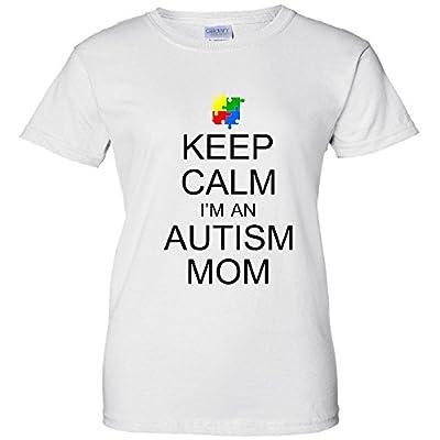 Keep Calm Autism Mom Awareness Women's T-Shirt