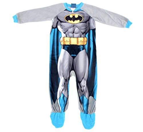 Batman One Piece Footed Blanket Sleeper With Cape (4T) back-948056
