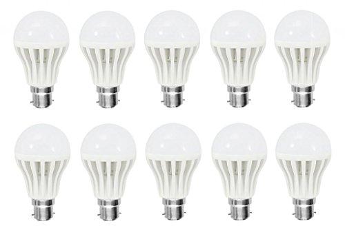 Afs 9 Watt LED Bulb(Cool Day Light,Pack Of 10)