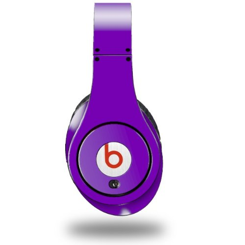 Solids Collection Purple Decal Style Skin (Fits Original Beats Studio Headphones - Headphones Not Included)