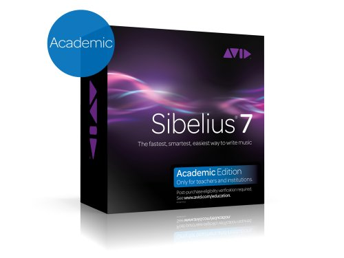 Avid Software Sibelius 7 Academic (for schools and teachers)