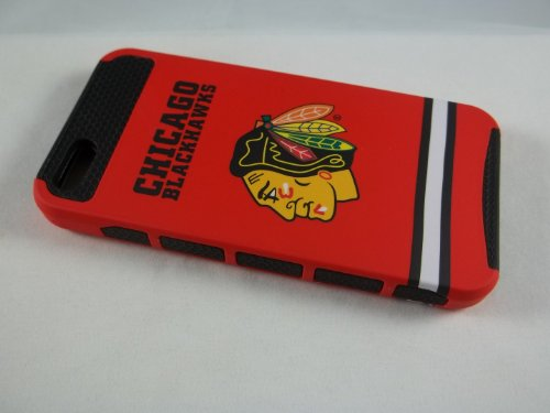Great Sale NHL Chicago Blackhawks Iphone 5 Box Defender Full Case ,,New ,,The Ultimate Champions Case!!