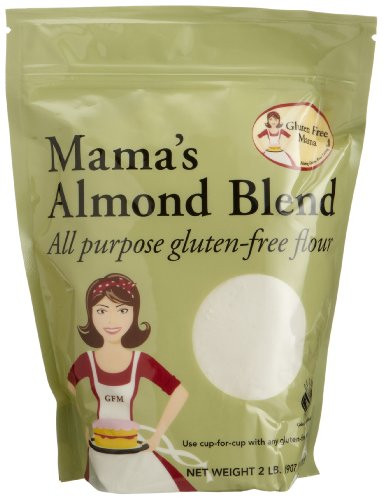 Gluten Free Mama, Mama's Almond Blend Flour, All Purpose Flour, 32-Ounce Pouches (Pack of 2)