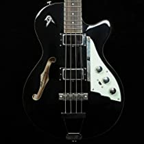 Duesenberg Starplayer Bass Guitar - Black with Custom Line Case