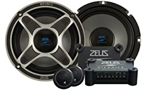 Hifonics Zeus ZXI6.5C 6.5-Inch 2-Way Component Speaker System (Pair) from Maxxsonics USA, Inc.