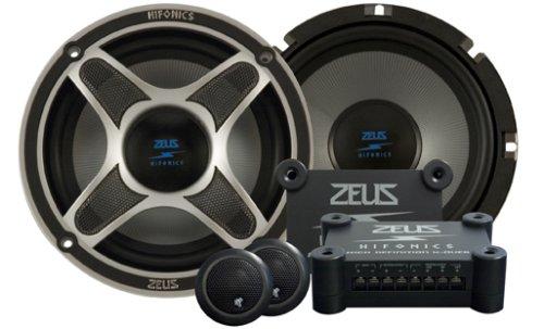 Hifonics Zeus ZXI6.5C 6.5-Inch 2-Way Component Speaker System (Pair)