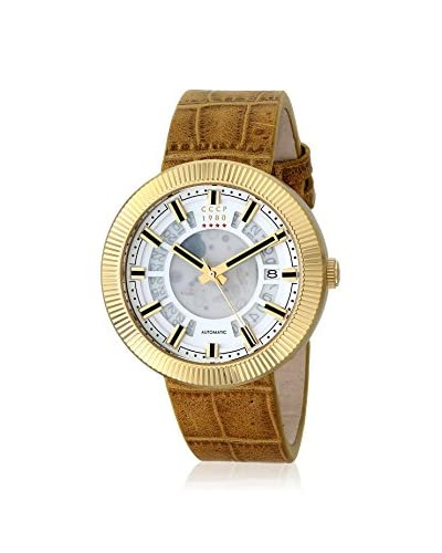 CCCP Men's CP-7025-04 Monino Tan Leather Watch